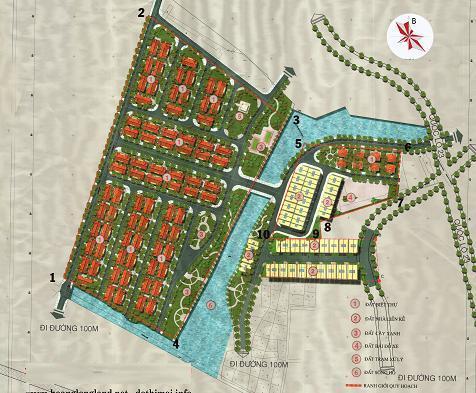 Dự án Khu đô thị Tùng Phương Mê Linh Hà Nội